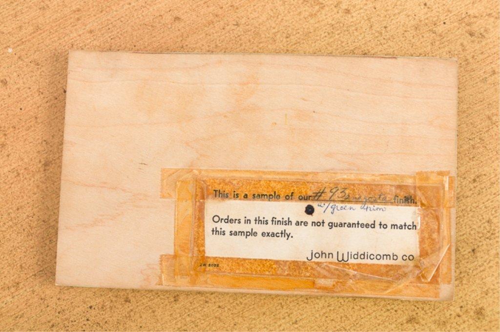 John Widdicomb Wm. Berkey Painted Bombe Chest - 7