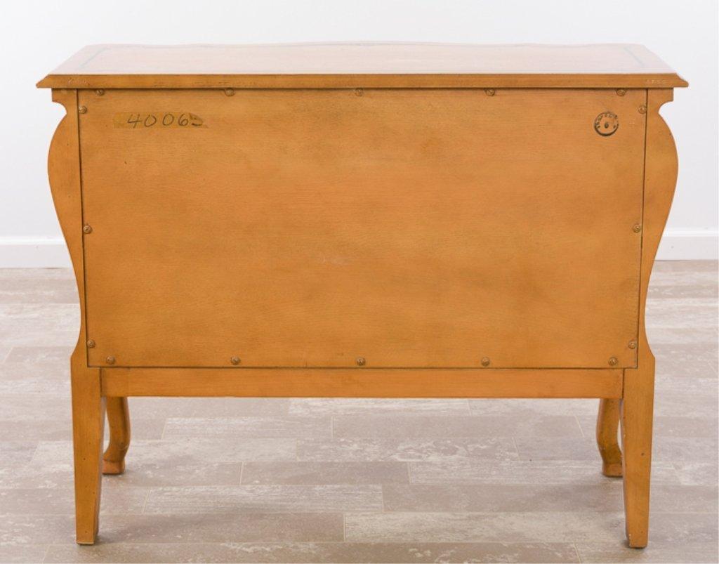 John Widdicomb Wm. Berkey Painted Bombe Chest - 9