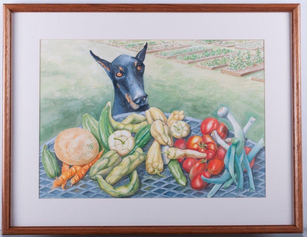 Emilie Fishman Watercolor - 2
