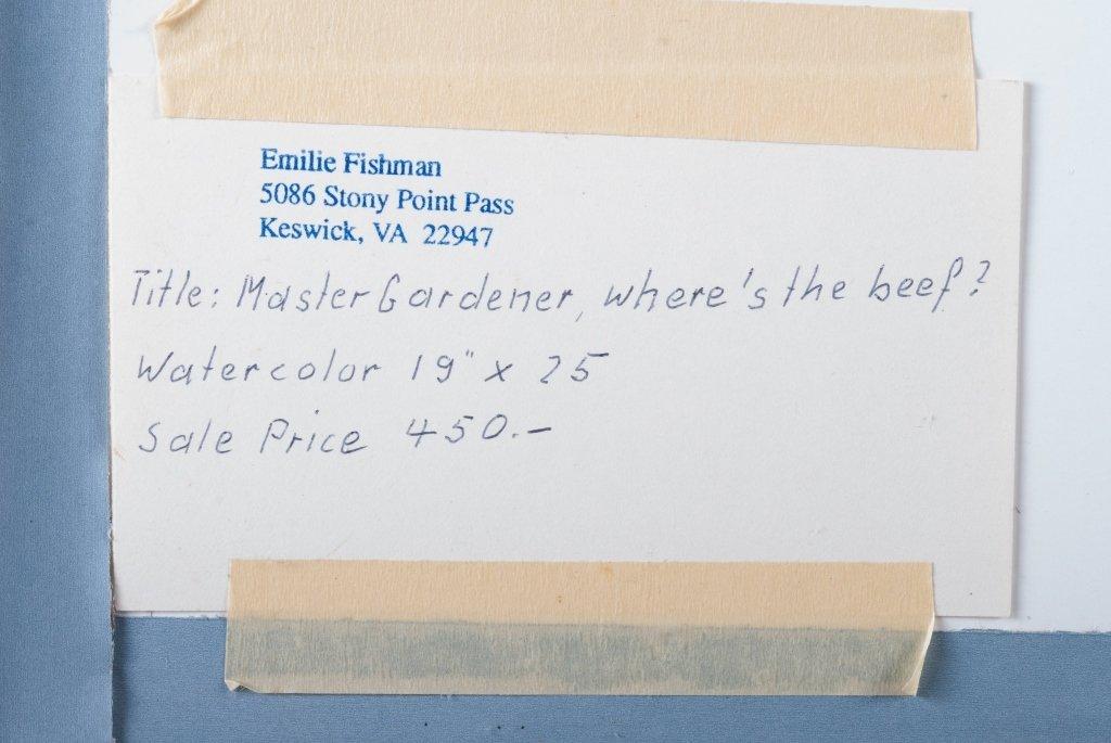 Emilie Fishman Watercolor - 4