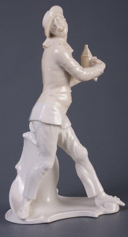Nymphenburg Pierrot Figure
