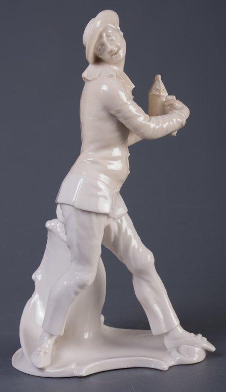 Nymphenburg Pierrot Figure - 3