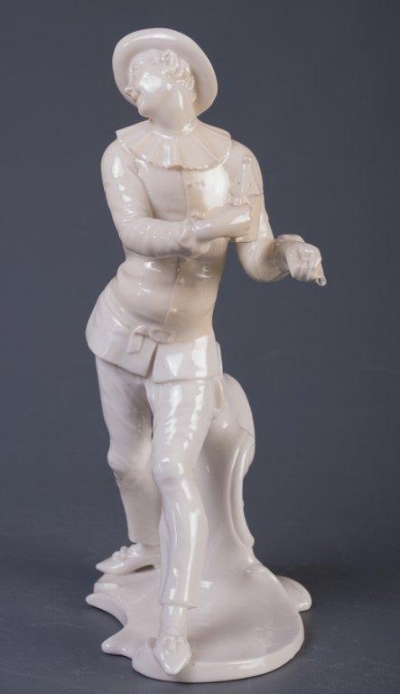 Nymphenburg Pierrot Figure - 4