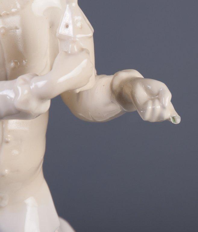 Nymphenburg Pierrot Figure - 9