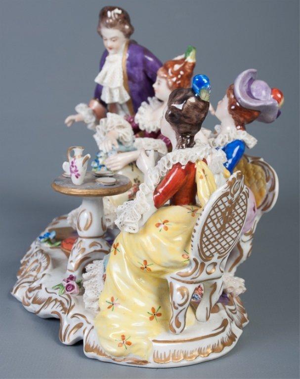Aelteste-Volksteder German Porcelain Figural Group - 2