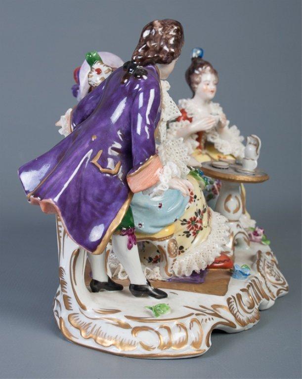 Aelteste-Volksteder German Porcelain Figural Group - 4