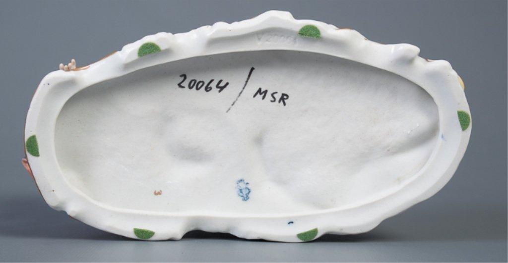 Aelteste-Volksteder German Porcelain Figural Group - 5