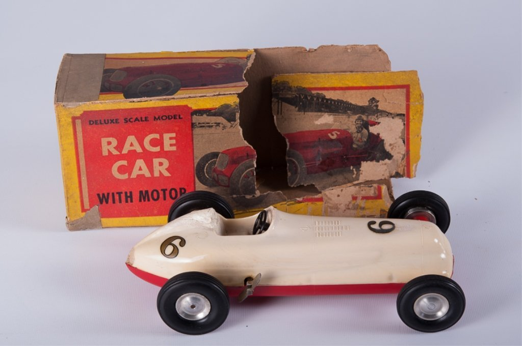Rite Spot Plastic Rex Mays Model Race Car