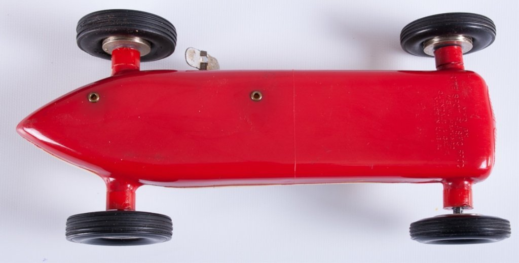 Rite Spot Plastic Rex Mays Model Race Car - 5