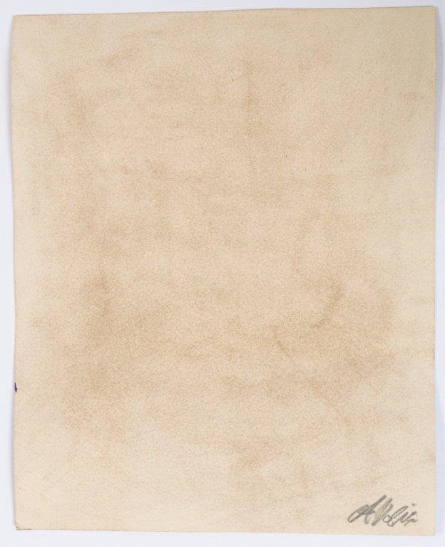 "Alfredo Volpi ""Fachada Das Casas"" Tempera on Paper - 3"