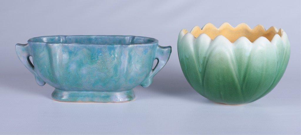 Weller & Roseville  American Pottery Duo