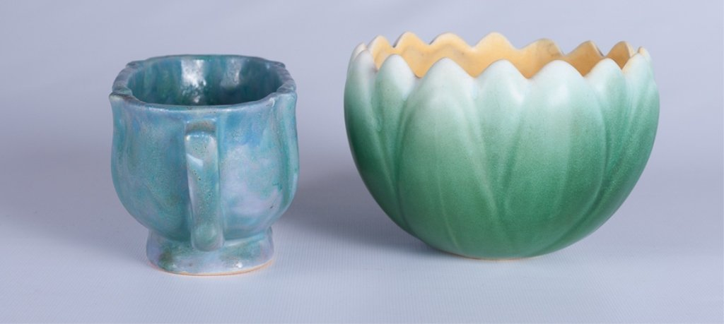 Weller & Roseville  American Pottery Duo - 2