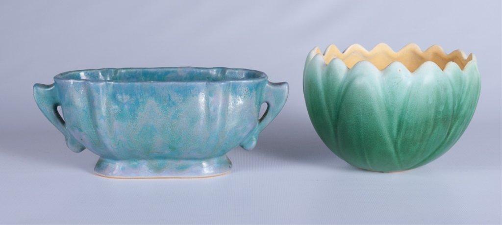 Weller & Roseville  American Pottery Duo - 3