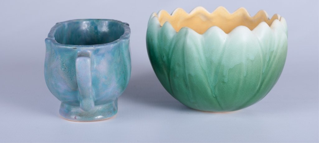 Weller & Roseville  American Pottery Duo - 4