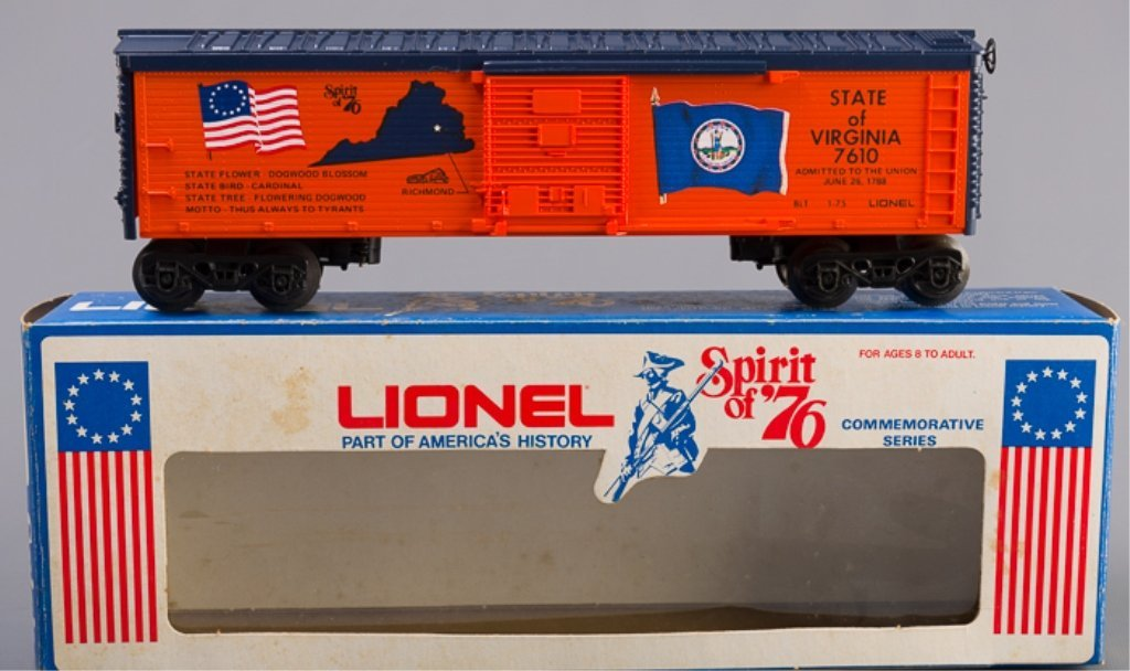 Lionel Spirit of '76 State of Virginia Box Car - 2