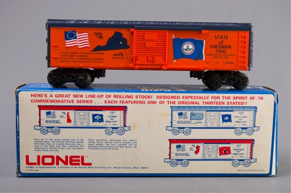 Lionel Spirit of '76 State of Virginia Box Car - 4