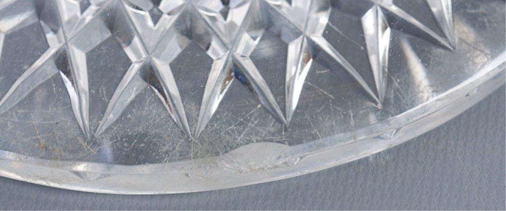 American Brilliant Period Cut Glass Vase Lamp - 5