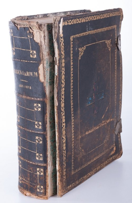 """Breviarium Romanum"" Antique Book"