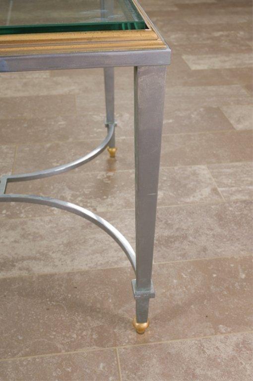 Maison Jansen Style Coffee Table, Glass Top - 4