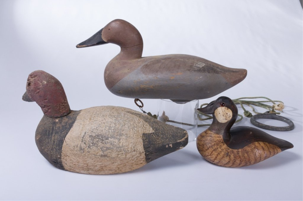 Duck Decoys Trio - 4