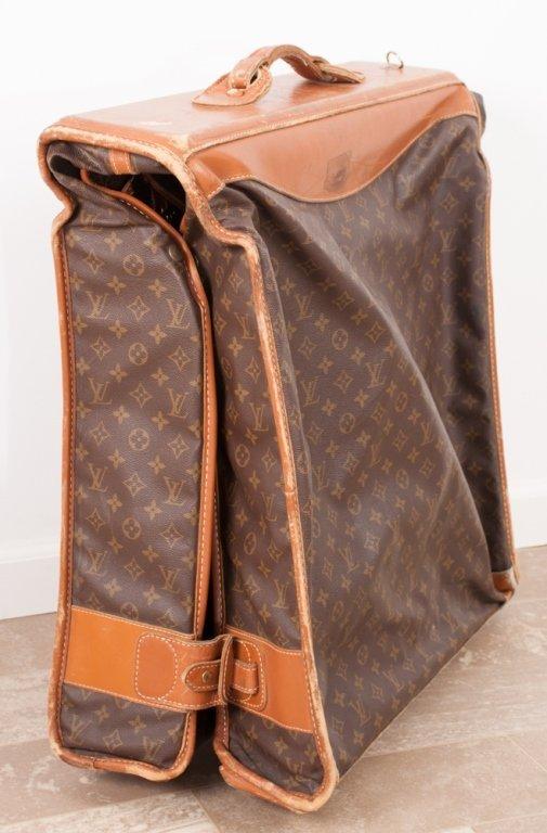 Vintage Louis Vuitton Monogram Rolling Garment Bag