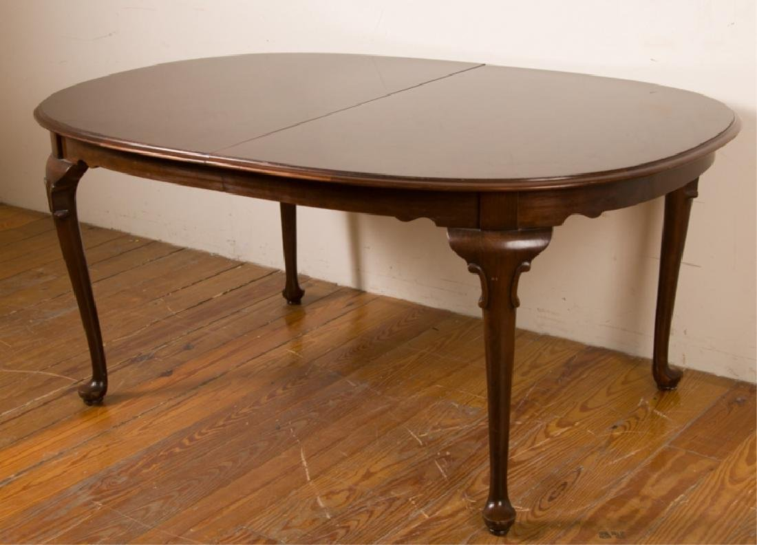 Ethan Allen Queen Anne Style Dining Table
