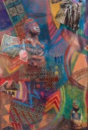 Shahar Caren Weaver, African Collage