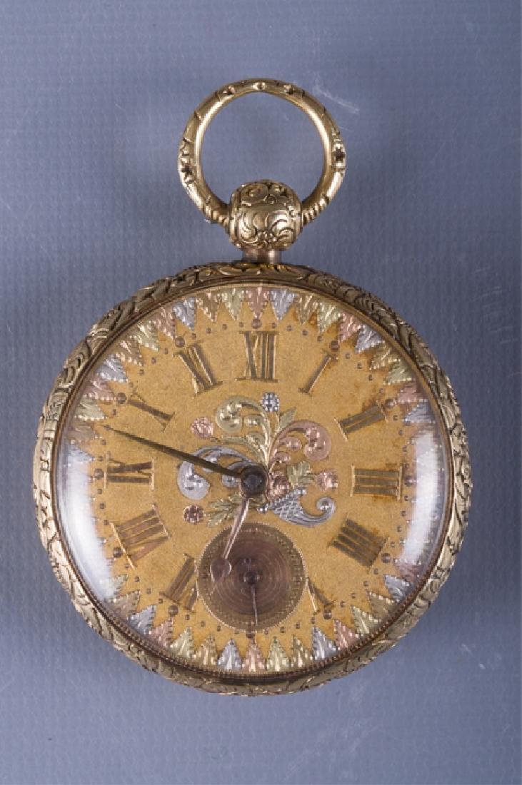 Joseph Johnson 18K Fusee Pocket Watch, Circa 1800