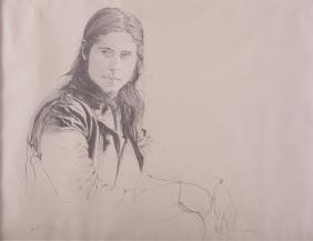 "Tim O'Kane ""Jamal"" Portrait Lithograph #25/100"
