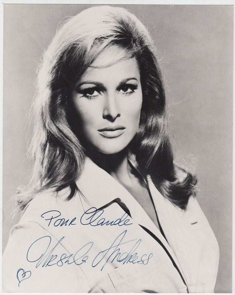Ursula ANDRESS  Swiss actress (born 1936). Symbol of th