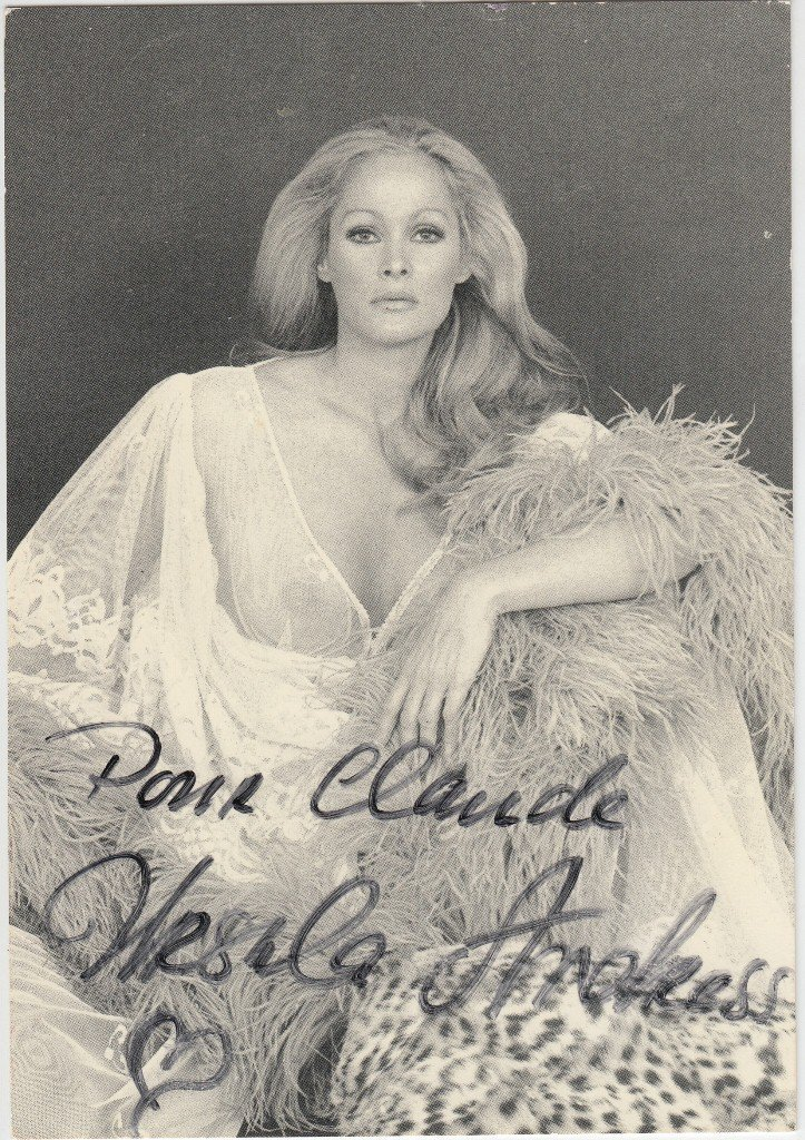 Ursula ANDRESS  Swiss actress (born 1936). Considered i