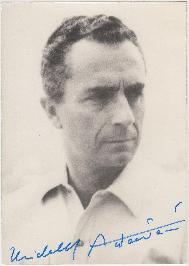 Michelangelo ANTONIONI  Italian director and scriptwrit