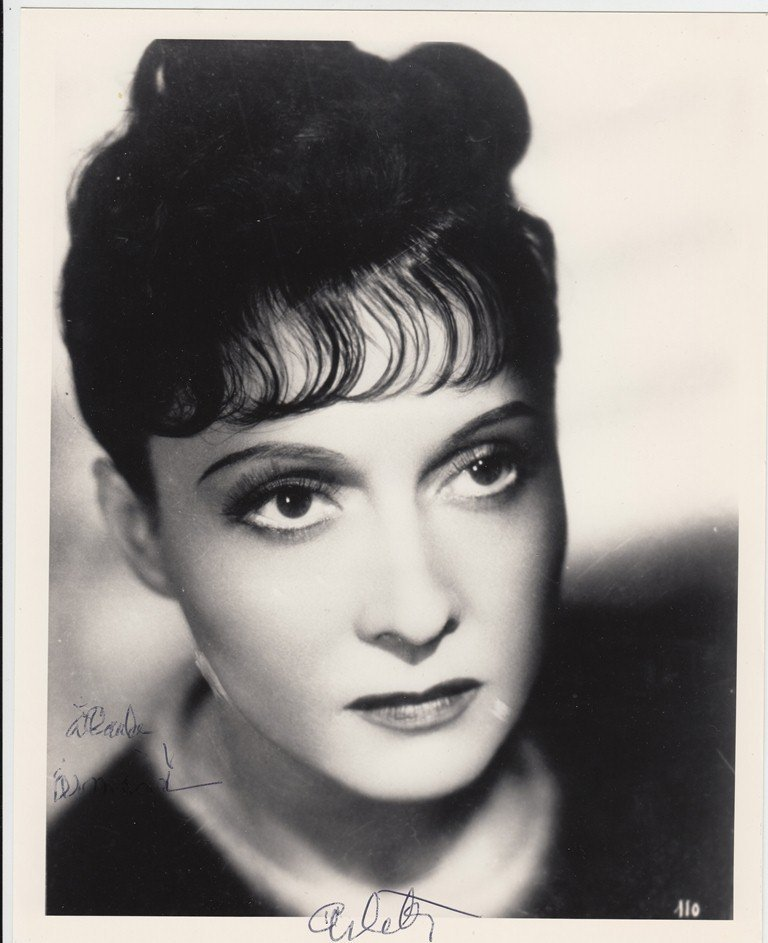 ARLETTY  French actress (1898-1992), famous for her rol
