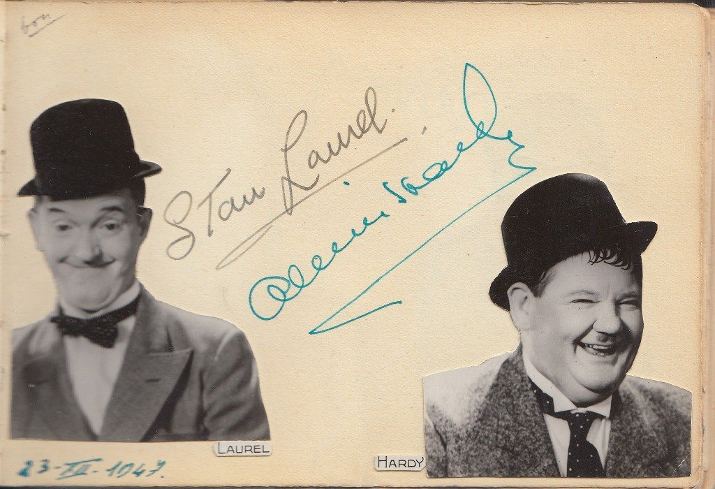 Stan LAUREL & Oliver HARDY  Comedian duo (resp. 1890-19
