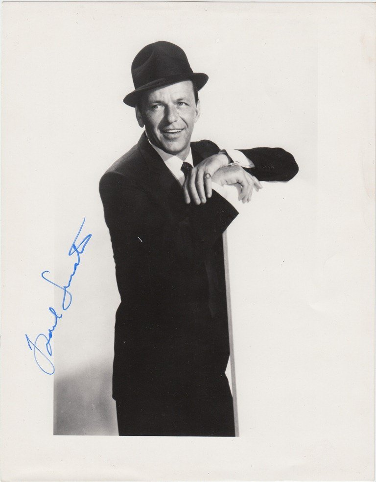 Frank SINATRA  American singer and actor (1915-1998). S