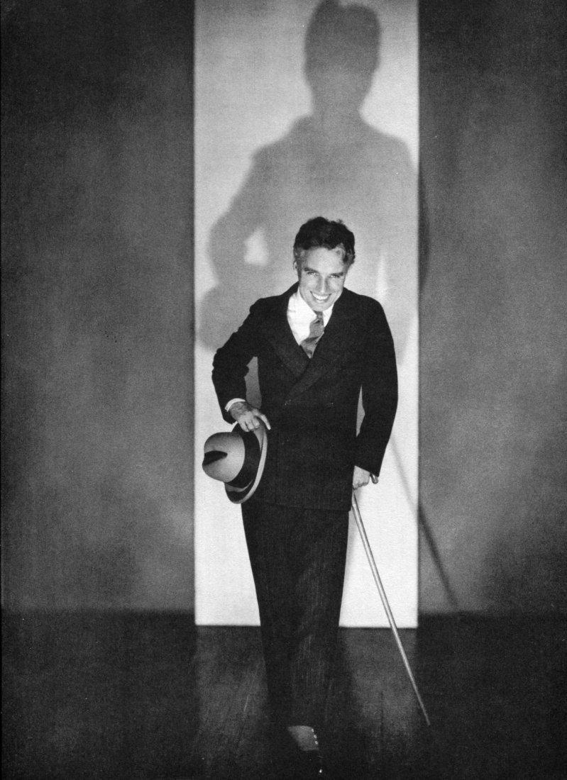 Edward Steichen, Charles Chaplin Vintage Photogravure