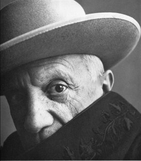 Irving Penn - Pablo Picasso, Cannes - PhotoGravure
