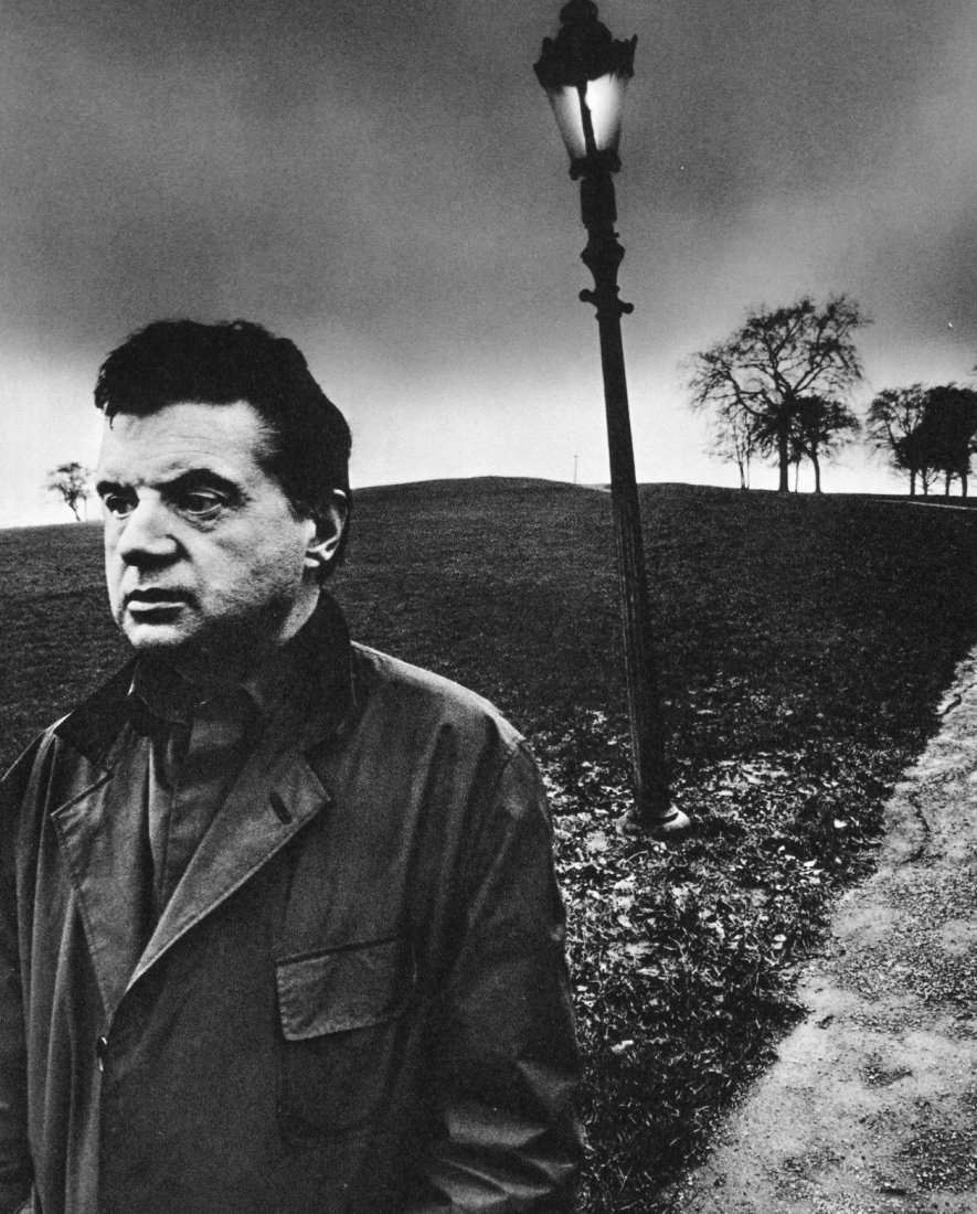 Bill Brandt - Francis Bacon, Primrose Hill, London