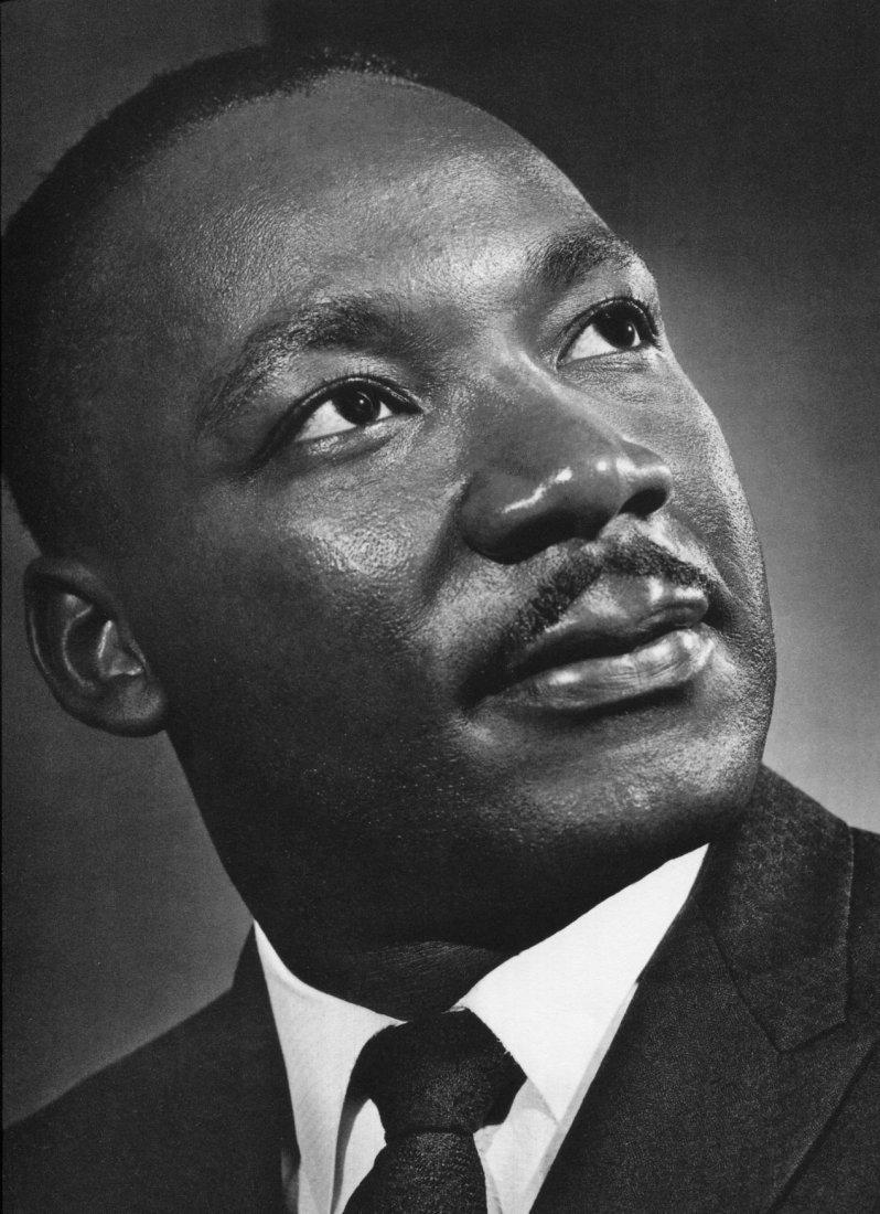 Karsh - Martin Luthor King - Vintage Gravure