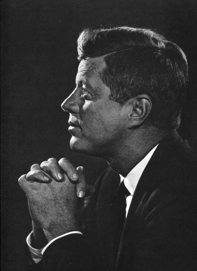 Karsh - John F Kennedy - Vintage Gravure