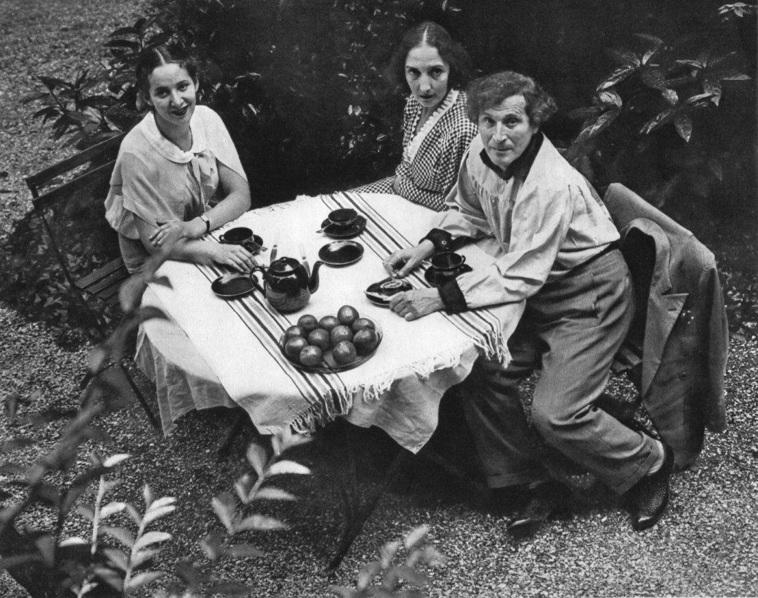 Andre Kertesz - Marc Chagall Family - Gravure