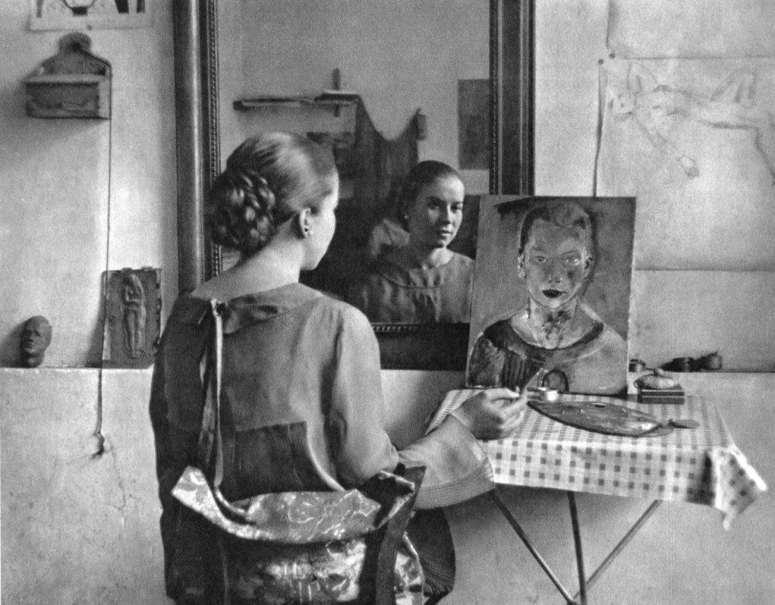 Andre Kertesz - Miss Cunvor Berg - Gravure