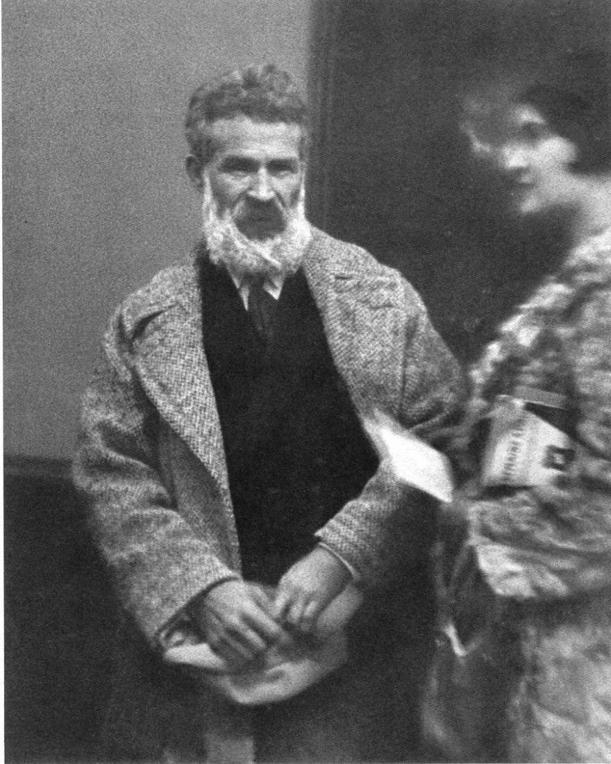 Andre Kertesz - Sculptor Brancusi - Gravure