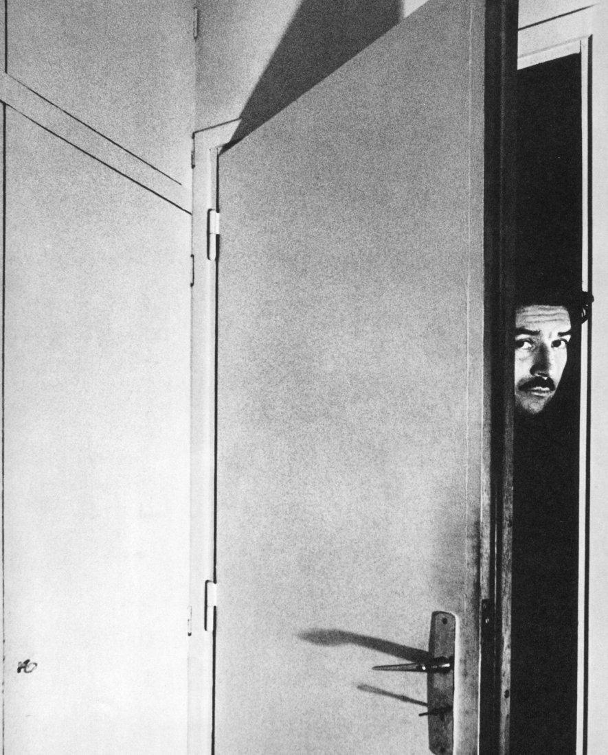 Bill Brandt - Alain Robbe-Grillet, Paris- Gravure
