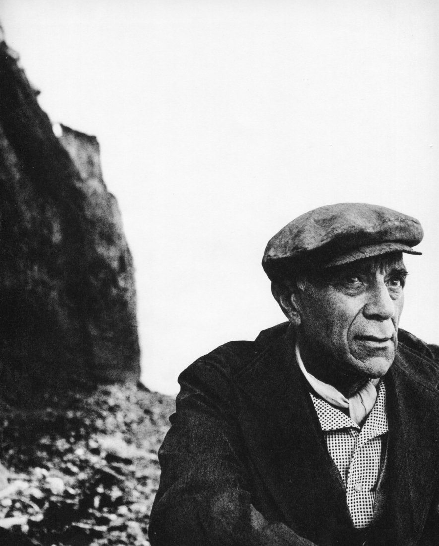 Bill Brandt - Georges Braque, Normandy - Gravure