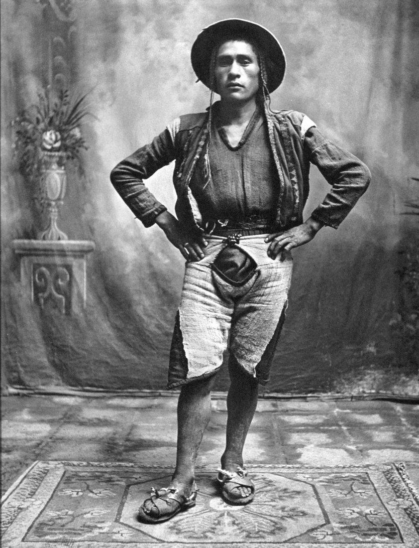 Irving Penn - Young Quechuan Man - Photogravure