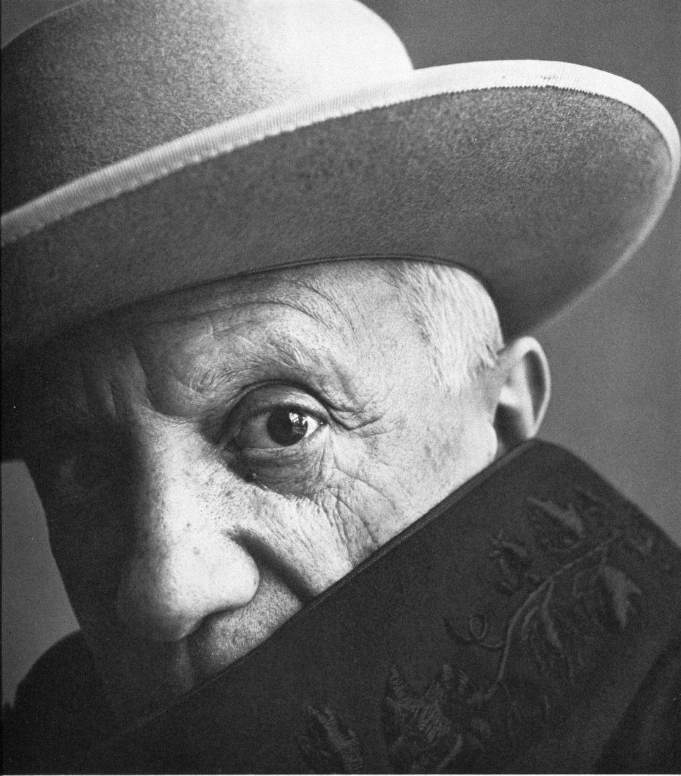 Irving Penn - Picasso, Cannes - PhotoGravure