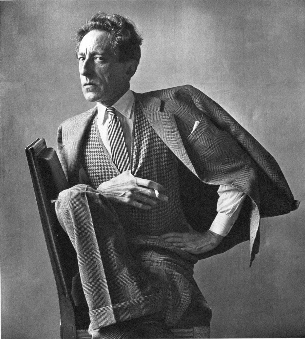 Irving Penn - Jean Cocteau, Paris - PhotoGravure