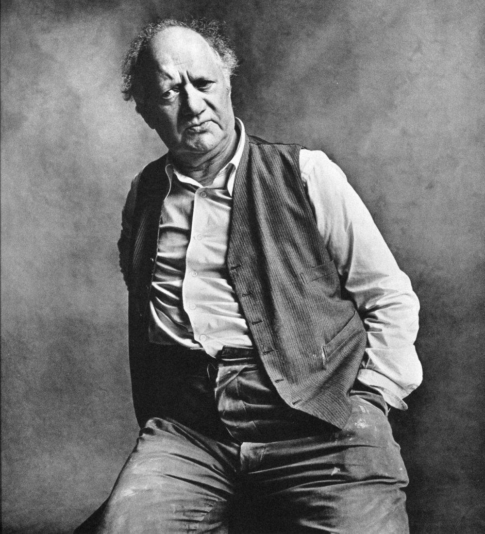 Irving Penn - Jacob Epstein - PhotoGravure