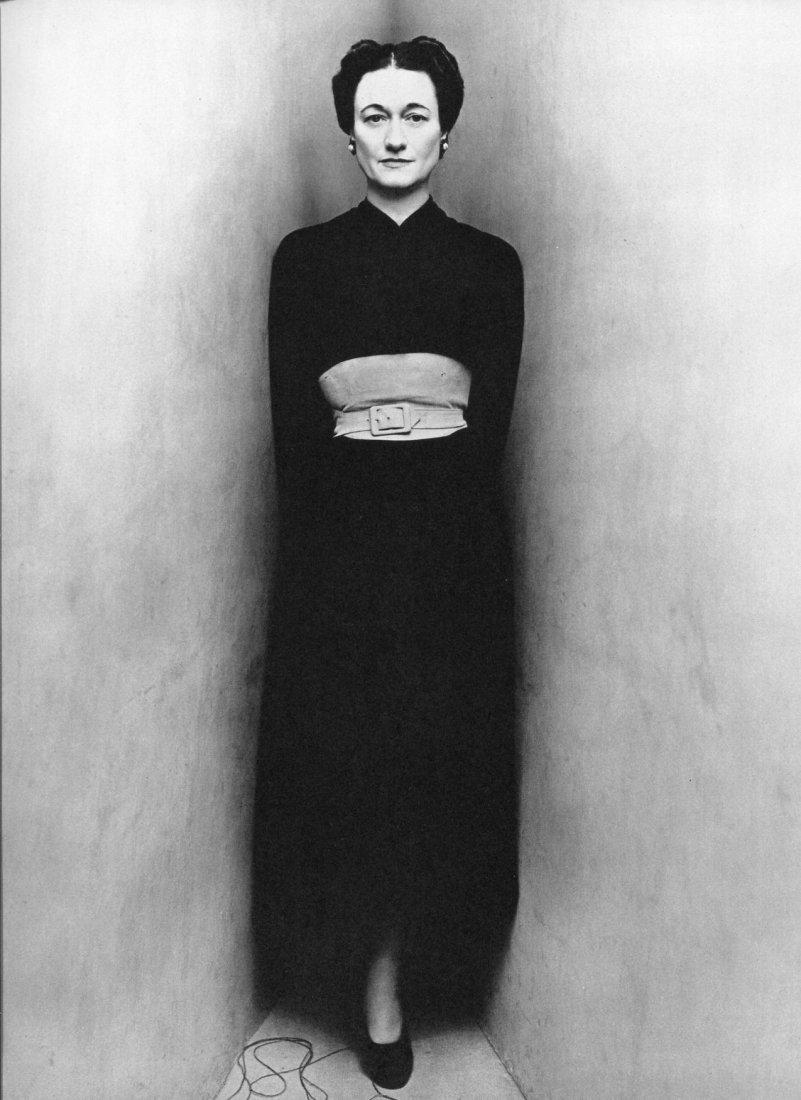 Irving Penn - Duchess of Windsor - PhotoGravure